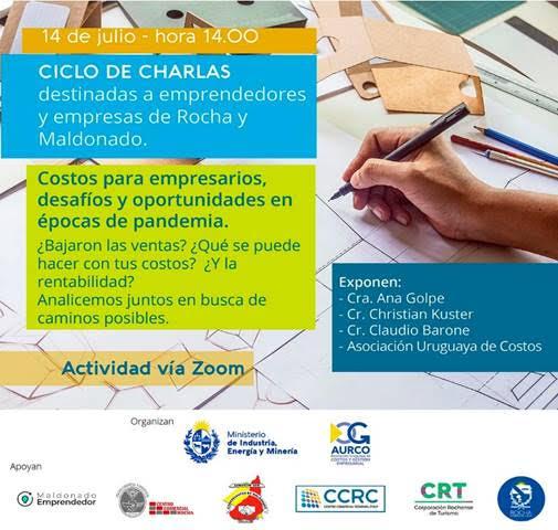Ciclo de charlas MIEM 2021 - Costos para empresarios, desafíos y oportunidades